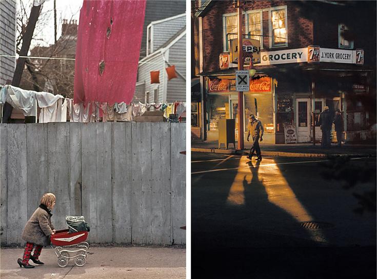 Fred Herzog photos - walking
